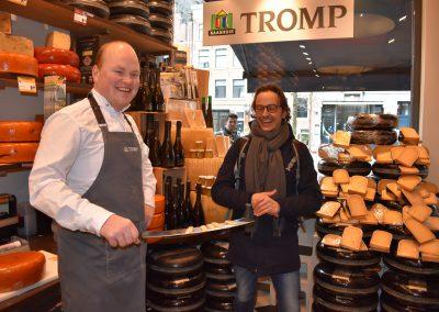 Cheese Tasting at Tromp